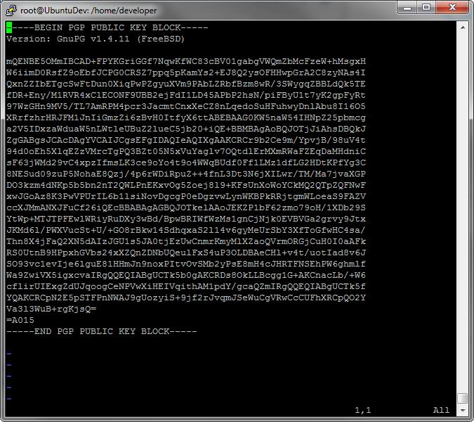 NGINX key